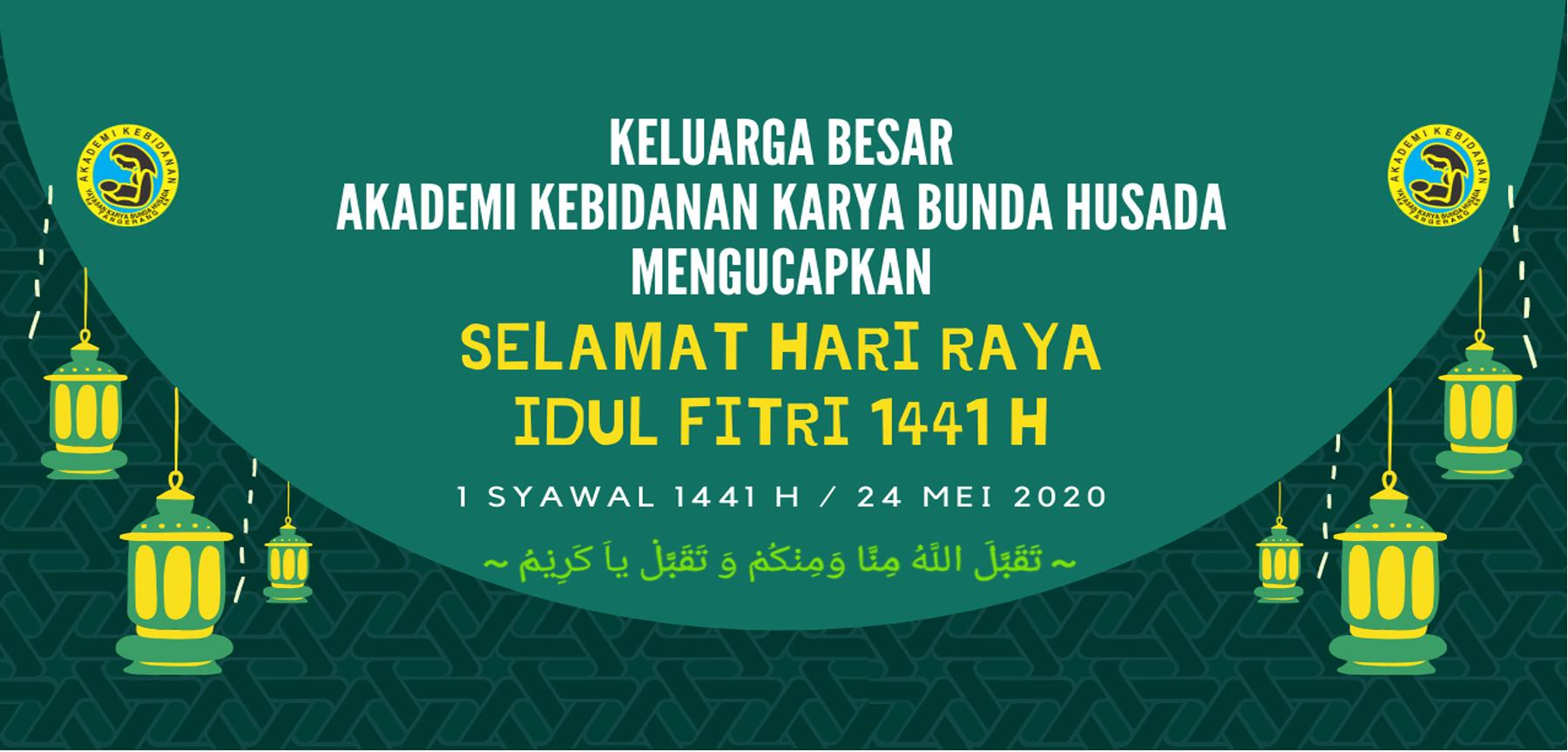 ASelamat Hari Raya Idul Fitri 1441 H