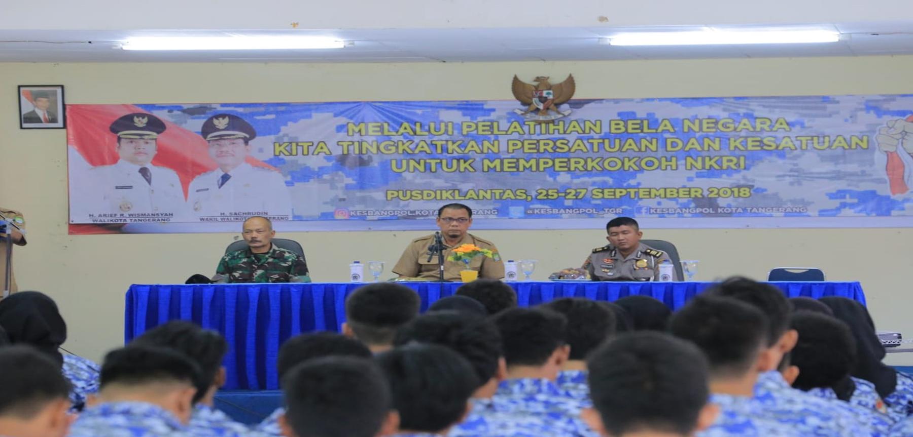 ABela Negara di Kesbangpol Kota Tangerang