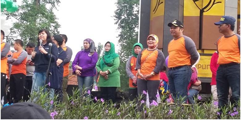 Peran serta AKBID KBH dalam rangka Sosialisasi Germas bersama Pemkot Tangerang