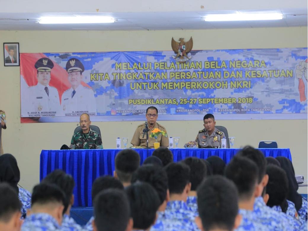 Bela Negara di Kesbangpol Kota Tangerang 2018 (1)