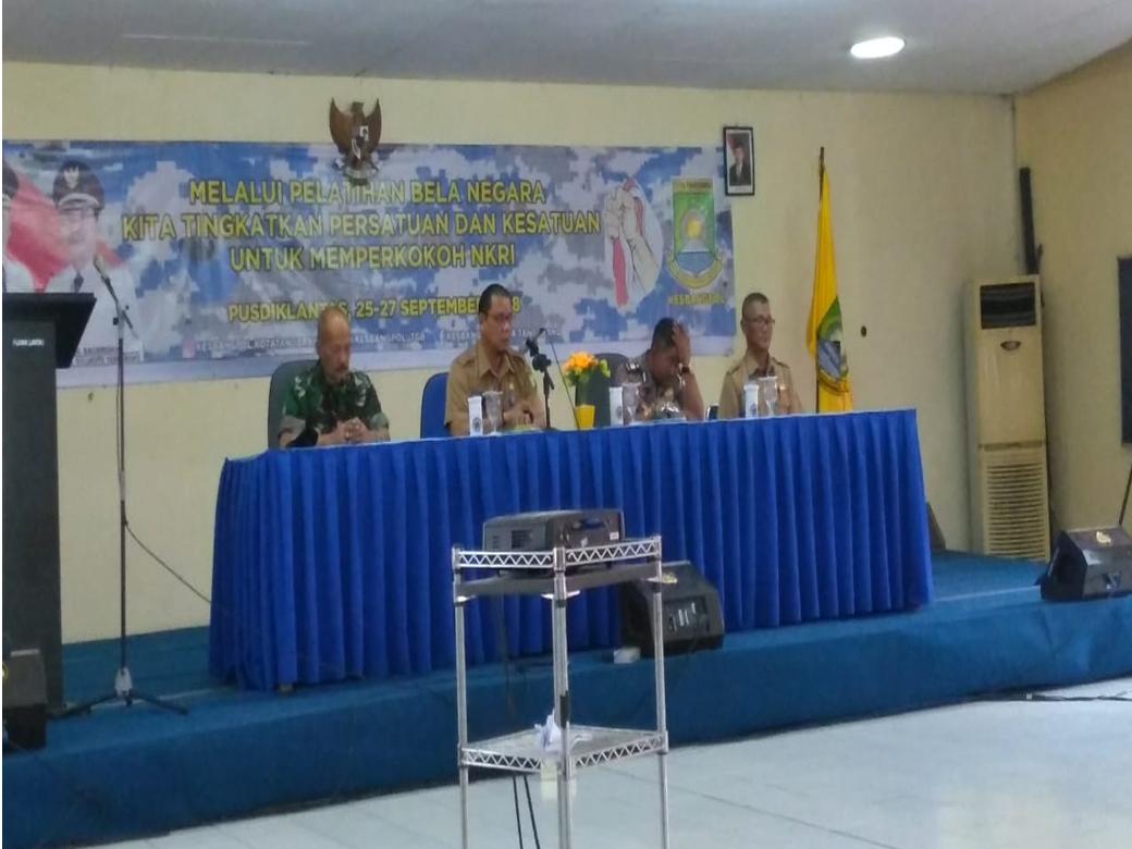 Bela Negara di Kesbangpol Kota Tangerang 2018 (3)