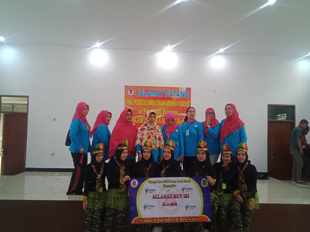 Lomba Senam Germas dan Kreasi Se Provinsi Banten Dalam Rangka HUT IBI Ke 68 (6)